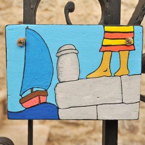 Painting – Marina