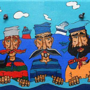 Painting – Fishermen 2