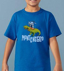 Kids T-Shirt Dino and the Shark