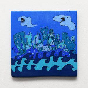Painting Blue Herceg Novi