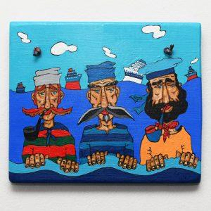 Painting Three Sailors