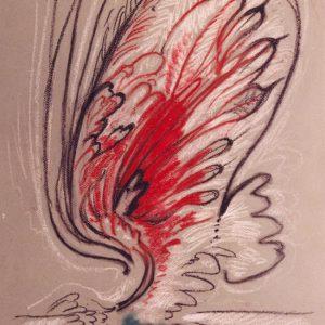 Slika Krilo (pastel)